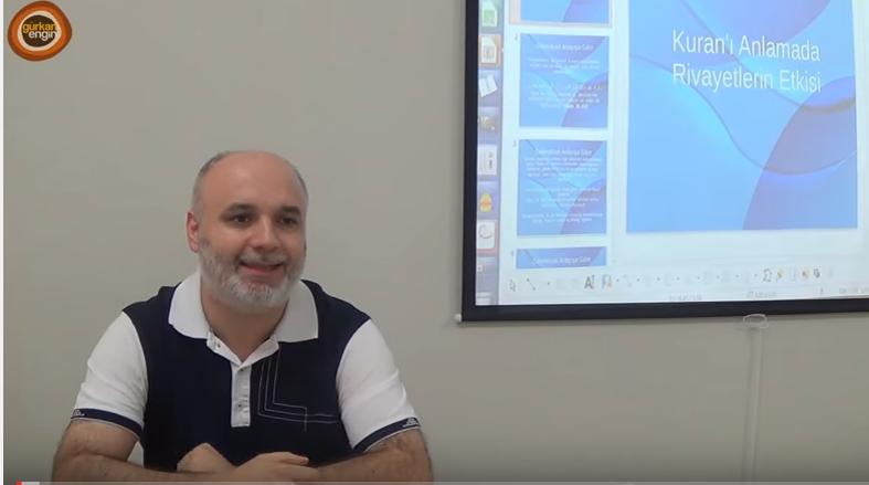 Hadisler ve ayet ile ilgili bir video